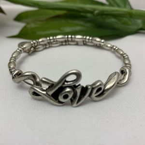 Alex and Ani LOVE Expandable Bracelet